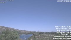 view from 1 Sotra island, W-Norway on 2018-07-10