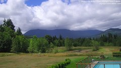 view from Olympic View Cabins Hurricane Ridge Cam on 2018-07-02
