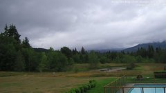 view from Olympic View Cabins Hurricane Ridge Cam on 2018-07-07