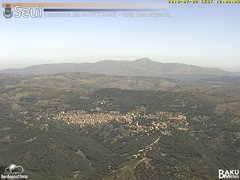 view from Monte Lusei Seui on 2018-07-02