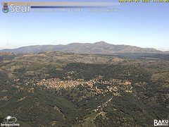 view from Monte Lusei Seui on 2018-07-07