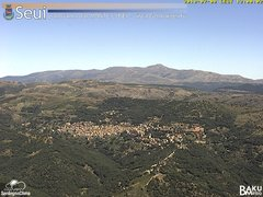view from Monte Lusei Seui on 2018-07-08