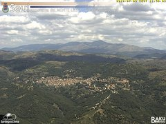 view from Monte Lusei Seui on 2018-07-09