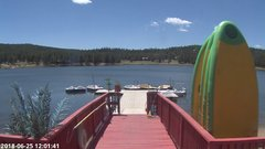 view from Angel Fire Resort - Monte Verde Lake on 2018-06-25
