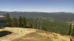 view from Angel Fire West View on 2018-06-23