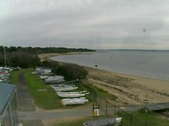 view from Cowes Yacht Club - West on 2018-06-20