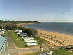 view from Cowes Yacht Club - West on 2018-06-21