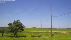 view from Ewing, Nebraska (west view)   on 2018-07-08