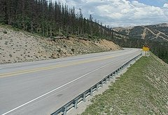 view from 4 - Highway 50 Road Conditions on 2018-07-08