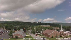 view from Highland Park Hose Co. #1 on 2018-06-19