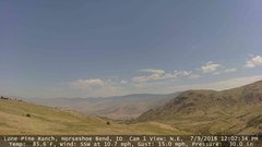 view from Horseshoe Bend, Idaho CAM1 on 2018-07-09