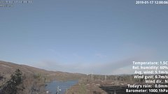 view from 1 Sotra island, W-Norway on 2019-01-17