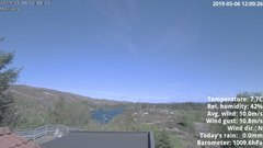 view from 1 Sotra island, W-Norway on 2019-05-06