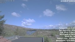 view from 1 Sotra island, W-Norway on 2019-05-07