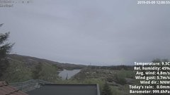 view from 1 Sotra island, W-Norway on 2019-05-09