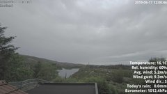view from 1 Sotra island, W-Norway on 2019-06-17