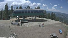 view from Angel Fire Resort - Chile Express on 2018-07-19