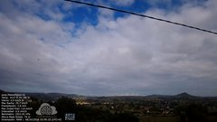 view from MeteoReocín on 2018-10-08