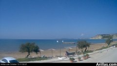 view from Arillas Corfu Live Webcam on 2018-10-13
