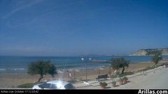 view from Arillas Corfu Live Webcam on 2018-10-17