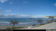 view from Arillas Corfu Live Webcam on 2019-01-07