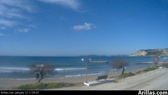 view from Arillas Corfu Live Webcam on 2019-01-12