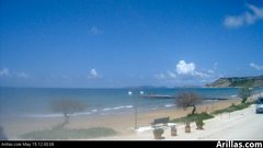 view from Arillas Corfu Live Webcam on 2019-05-15