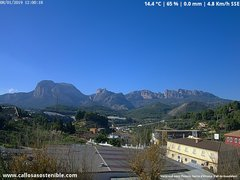 view from Callosa d'en Sarrià - Aitana on 2019-01-08