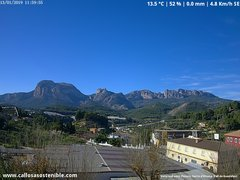 view from Callosa d'en Sarrià - Aitana on 2019-01-13