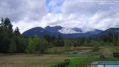 view from Olympic View Cabins Hurricane Ridge Cam on 2018-09-16