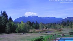 view from Olympic View Cabins Hurricane Ridge Cam on 2018-09-23