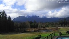 view from Olympic View Cabins Hurricane Ridge Cam on 2018-12-10