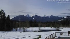 view from Olympic View Cabins Hurricane Ridge Cam on 2019-03-14