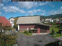 view from VREME ŽIRI-cam-1-SV on 2018-09-24