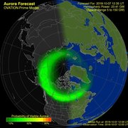 view from Aurora Forecast on 2018-10-07