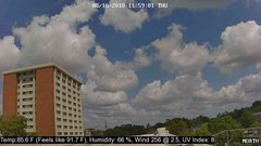 view from University Place Apartments - North Weather on 2018-08-16