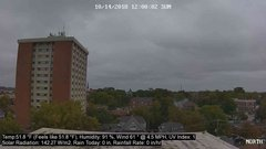 view from University Place Apartments - North Weather on 2018-10-14