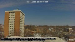 view from University Place Apartments - North Weather on 2019-03-11