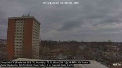 view from University Place Apartments - North Weather on 2019-03-24