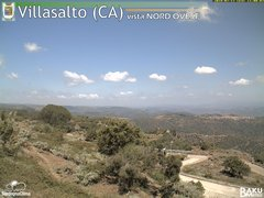 view from Villasalto on 2018-07-17