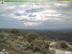 view from Villasalto on 2018-08-20