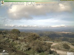 view from Villasalto on 2018-11-12