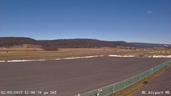 view from Mifflin County Airport (east) on 2019-02-09