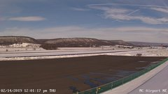view from Mifflin County Airport (east) on 2019-02-14