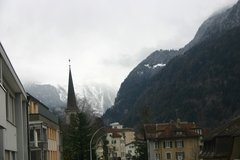 view from Bristenblick on 2019-03-13