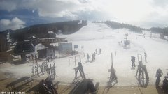 view from Angel Fire Resort - Base on 2019-02-04