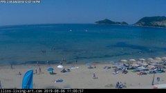 view from Agios Georgios NW Corfu Greece on 2019-08-06