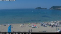 view from Agios Georgios NW Corfu Greece on 2019-08-11