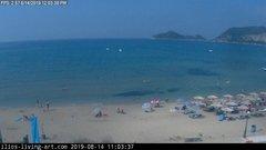 view from Agios Georgios NW Corfu Greece on 2019-08-14