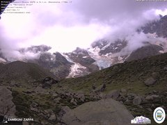 view from Rifugio Zamboni on 2019-08-12